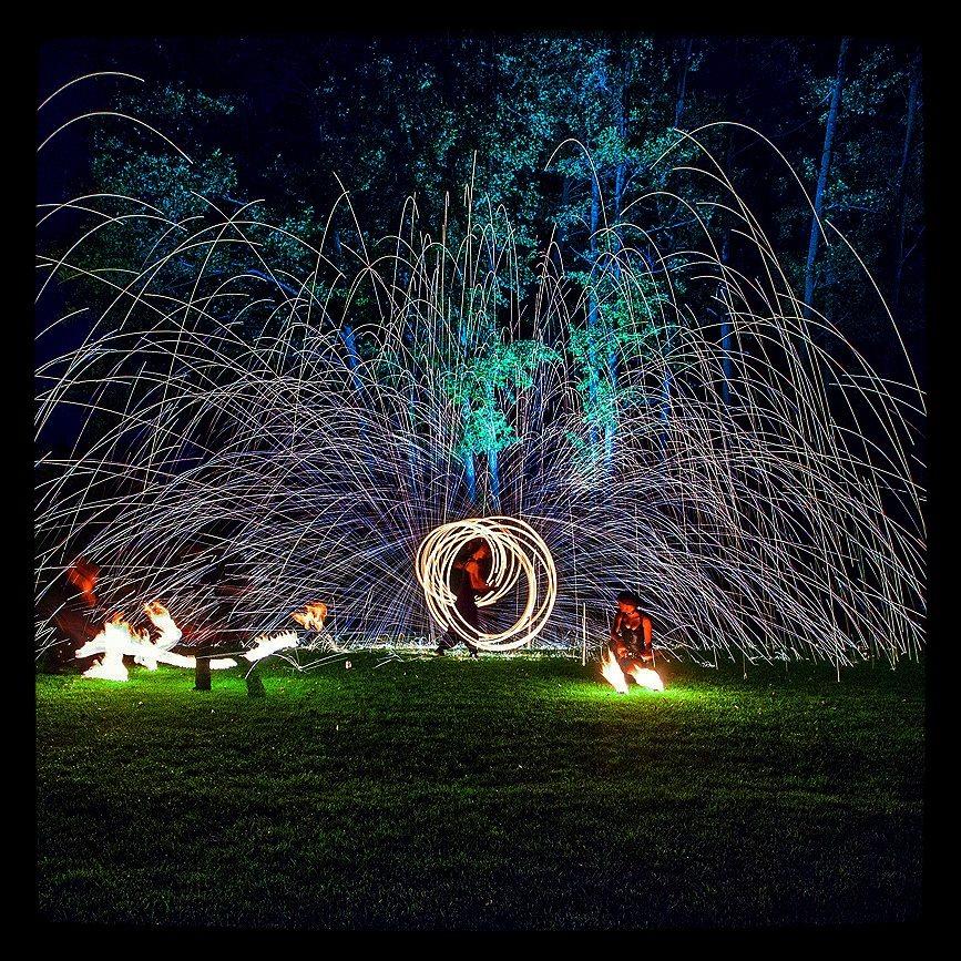 instagram zdjęcia szysz pokaz ognia taniec ognia wesele