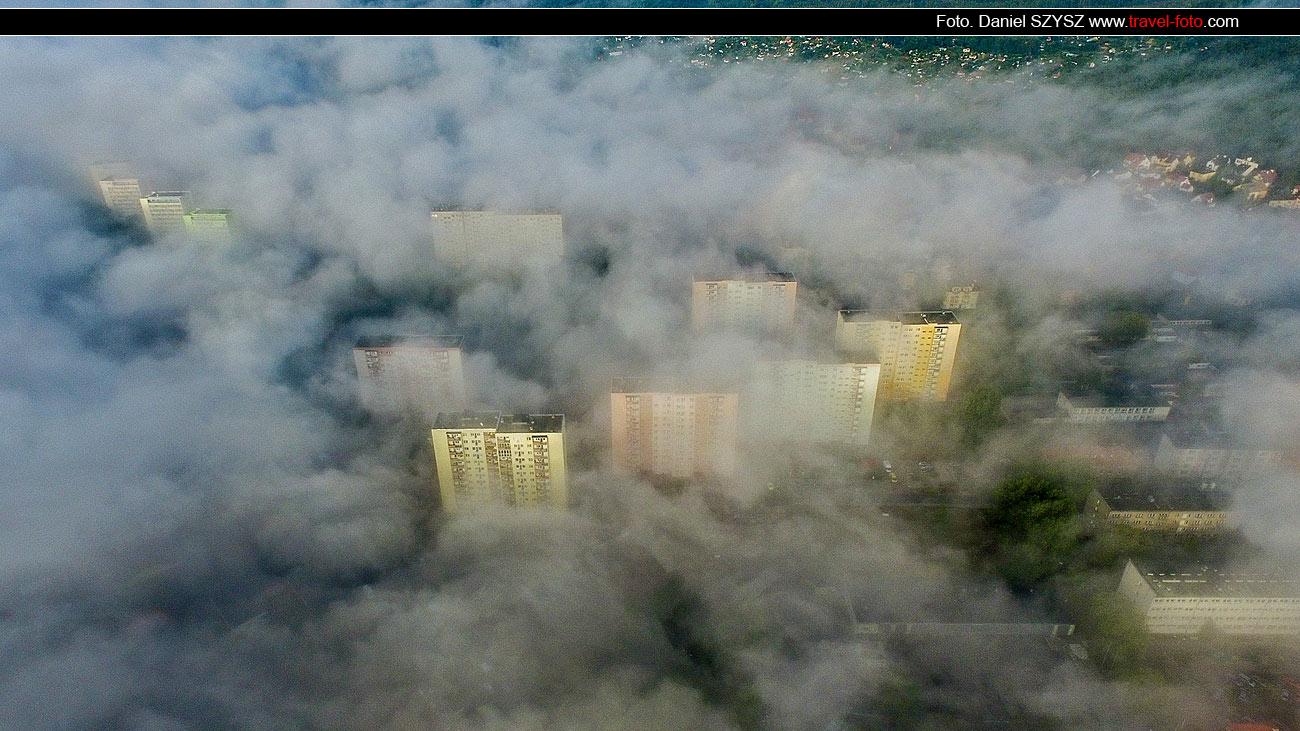 Mgła nad Świnoujściem