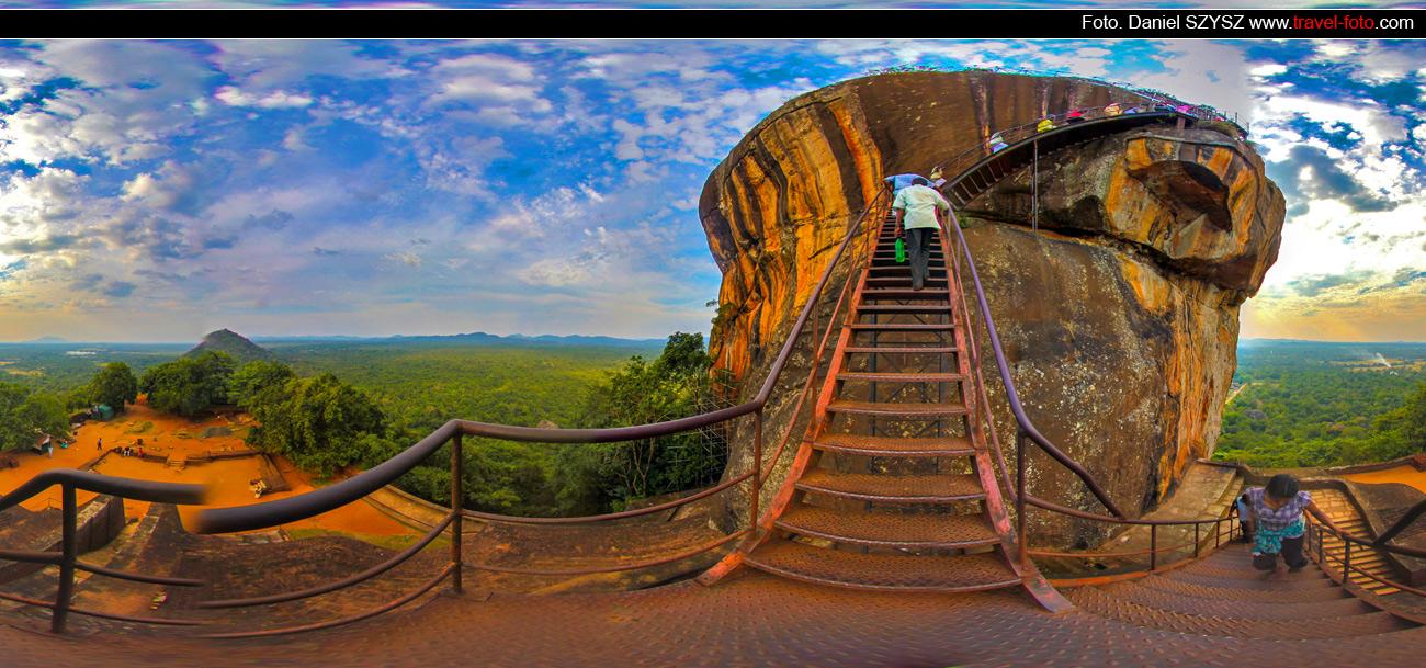 Sigiriya-Sri-lanka-szysz-góra-wakacje