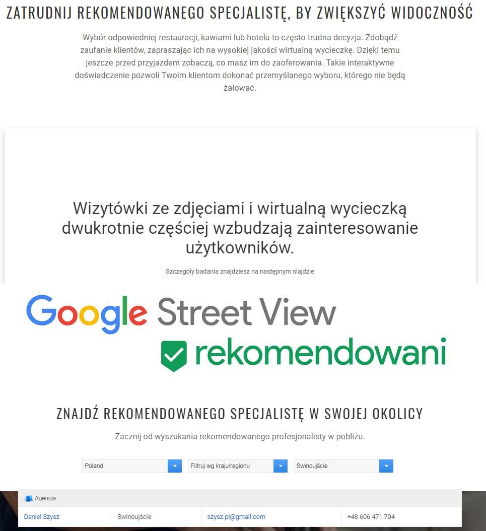 Daniel SZYSZ - fotograf rekomendowany przez Google